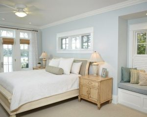 Pale Blue Bedroom Walls Decorating With Shades Of Paint