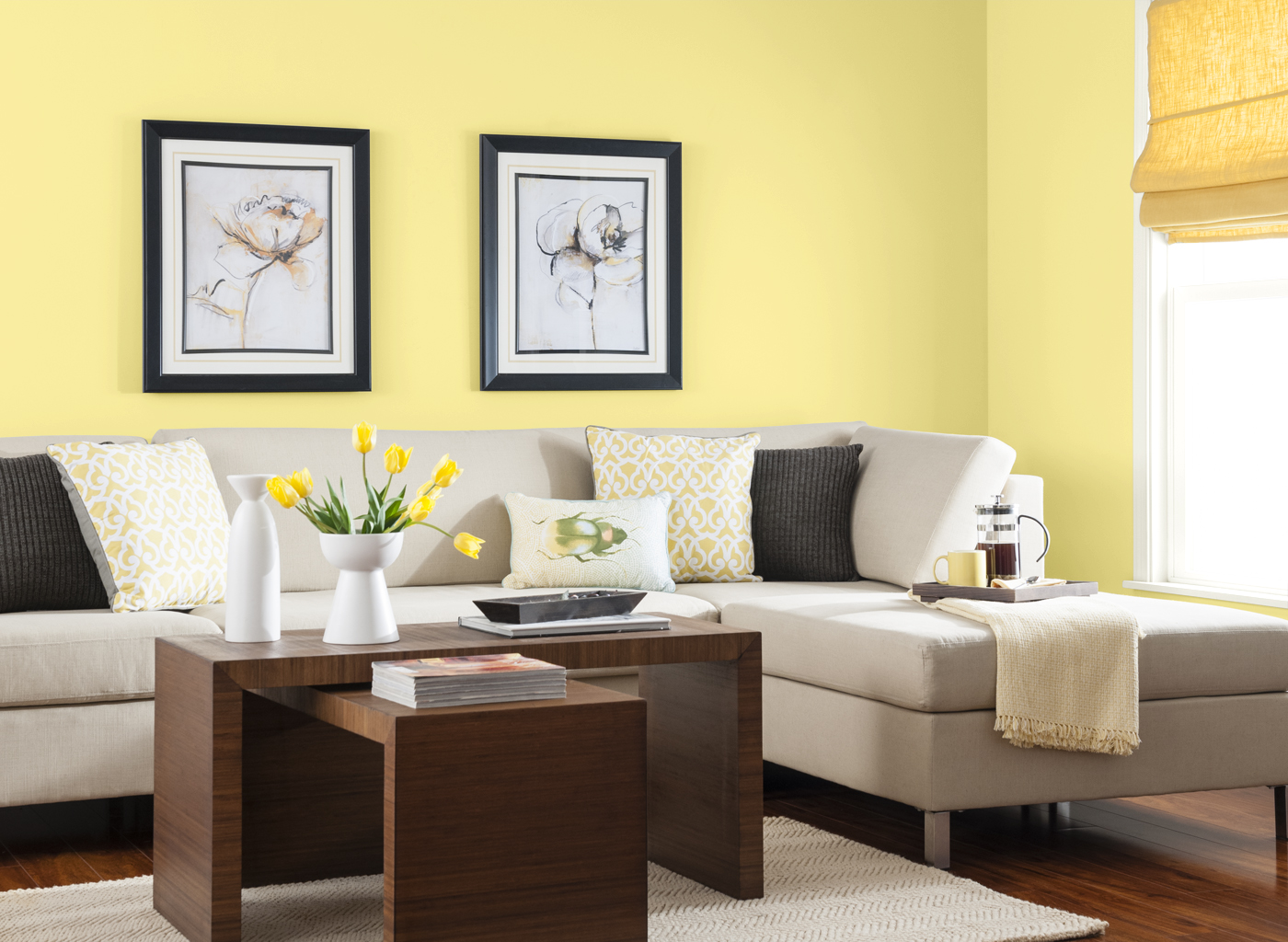 Decorating with Shades of Yellow Paint - Murphy Brothers Decorators
