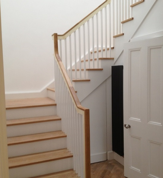 Stairs and spindles - different house paints and where to use them.