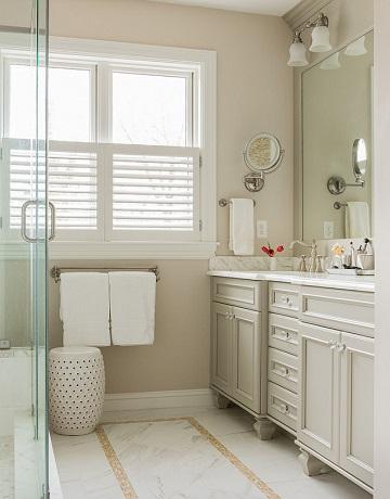 Beige bathroom - paint colour for your bathroom