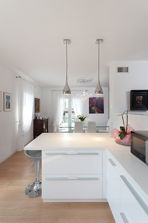 White painted kitchen - New Ideas for Painting Your Kitchen.